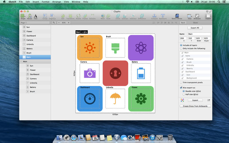 Sketch - Mac App Store Example