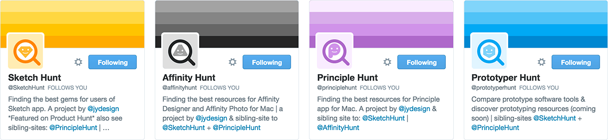 Twitter profile examples