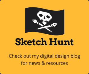 Sketch Hunt digital design blog