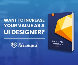 kissmyUI eBooks & Sketch app UI Kit Libraries
