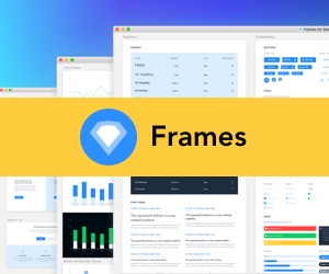 Frames for Sketch - Web Design System