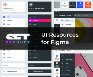 UI Resources for Figma - SETproduct