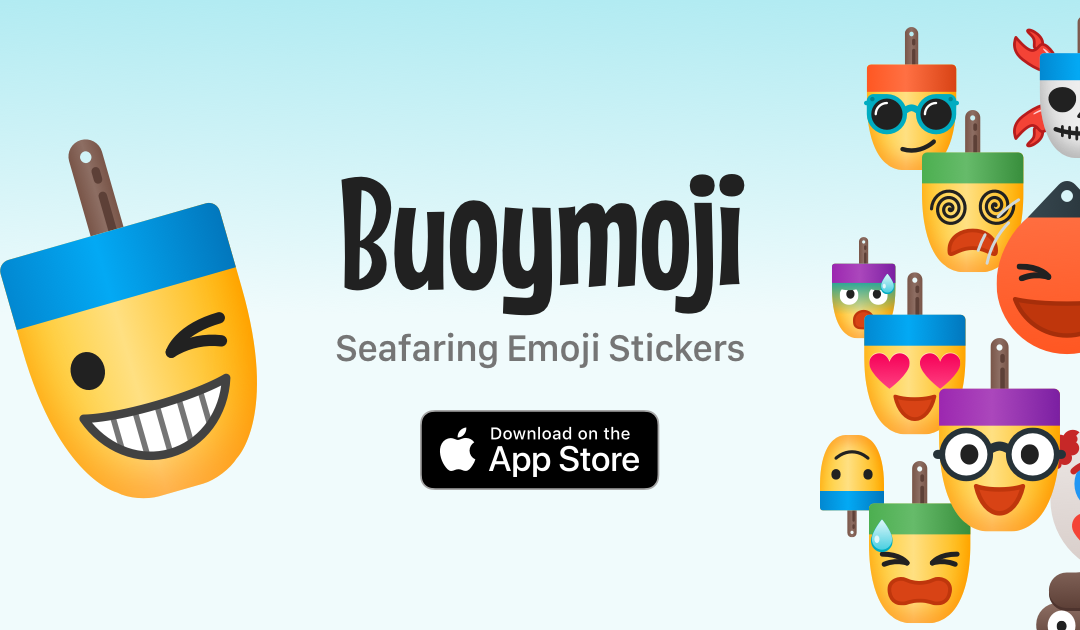 Buoymoji Seafaring Emoji Stickers for Apple iMessage