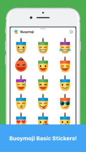 Buoymoji Basic stickers iPhone Example