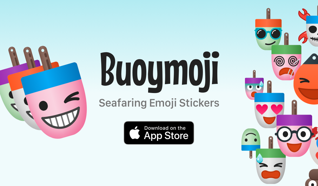 Buoymoji Colorways is Second in Series of iMessage Stickers