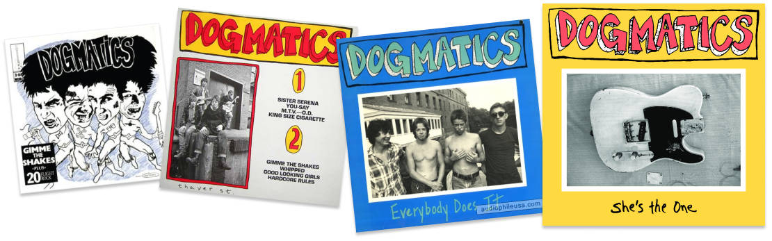 The Dogmatics Album Covers over time