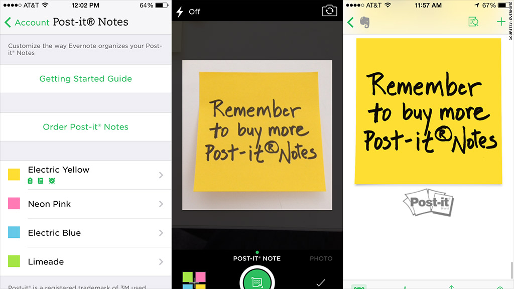 Capture Post-it® Notes into Evernote
