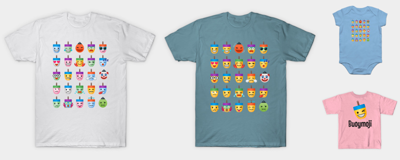 Buoymoji T-Shirts for Adults and Children