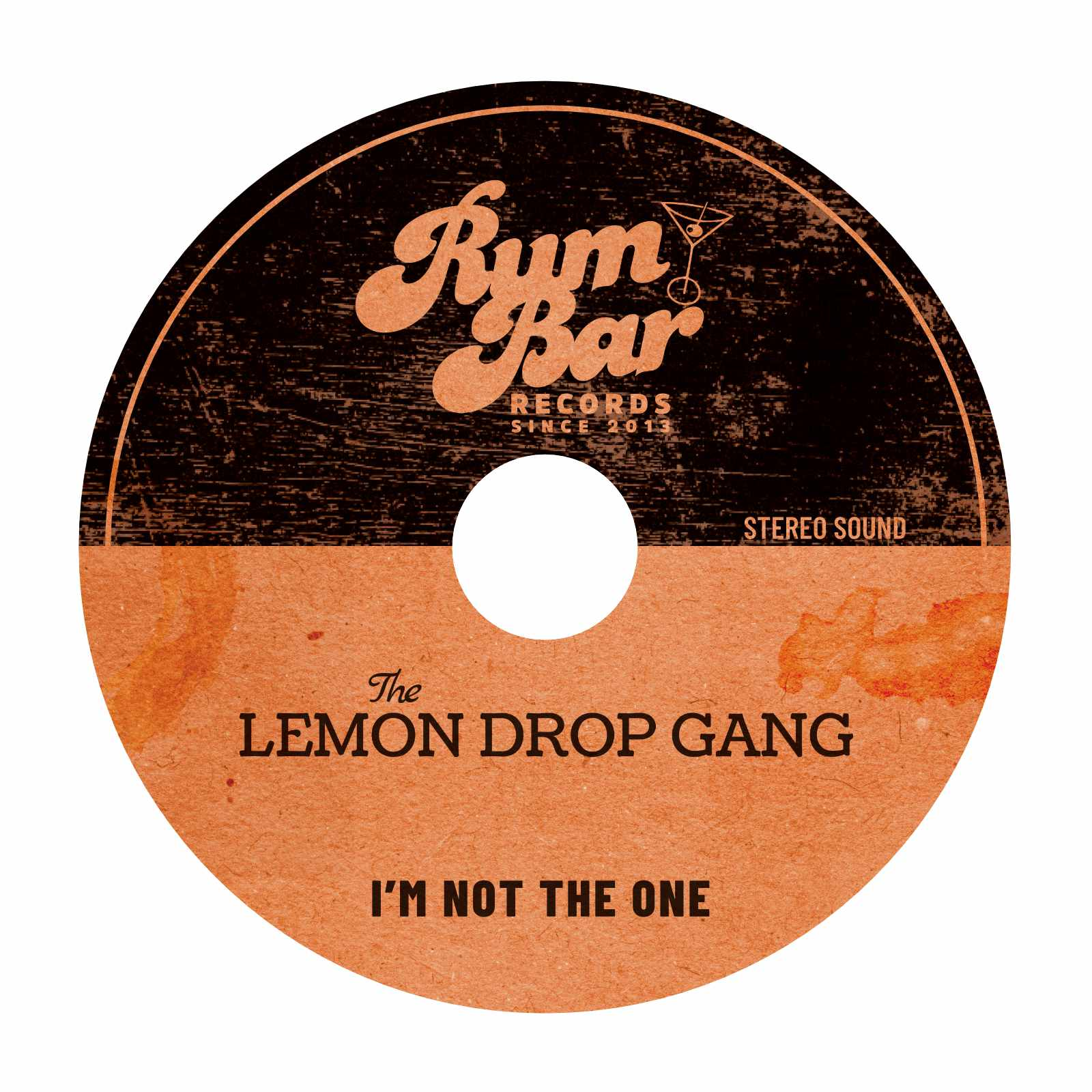 The Lemon Drop Gang CD Label