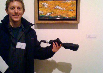 Corcoran Gallery alumni exhibit - James Young