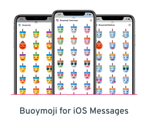 Buoymoji emoji for iOS Messages