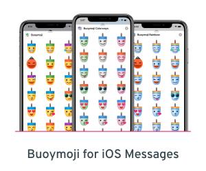 Buoymoji emoji for iOS Messages