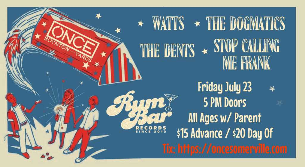 ONCE Somerville, Rum Bar Records & Boynton Yards – July 23, 2021